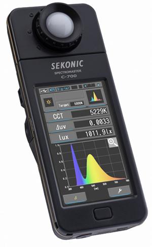 SEKONIC「スペクトロマスター C-700」