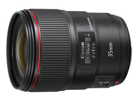 Canon「EF35mm F1.4L II USM」