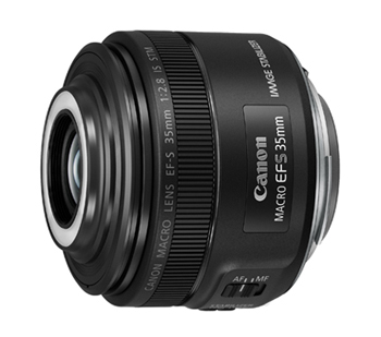 Canon「EF-S35mm F2.8 マクロ IS STM」