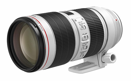 Canon「EF70-200mm F2.8L IS III USM」