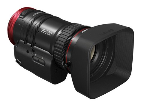 Canon「CN-E70-200mm T4.4 L IS KAS S」